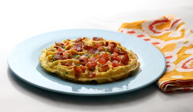 Waffle Omelet