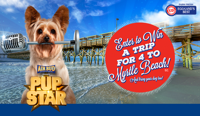Eggland's Best and Air Bud Entertainment Announce 'Ultimate EB PUP STAR' Sweepstakes