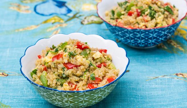 Watercress Confetti Quinoa