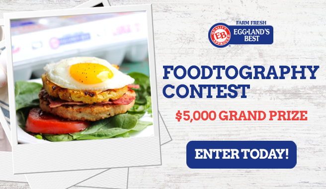 "Eggland's Best Announces First-Ever ""Foodtography"" Photo Contest"