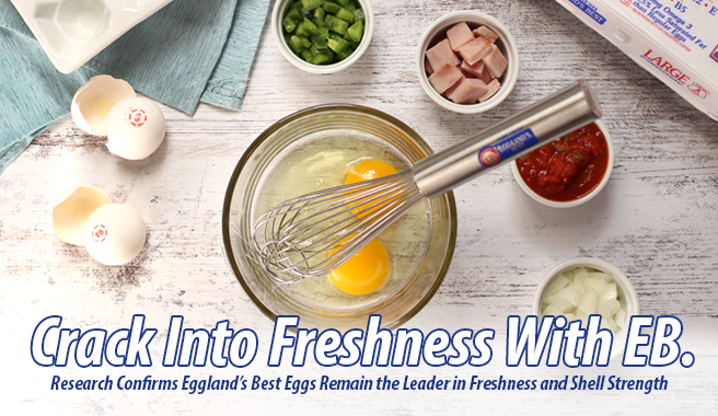 Research Confirms Eggland's Best Eggs Remain the Leader in Freshness and Shell Strength