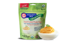 Organic Hard-Cooked Peeled Eggs