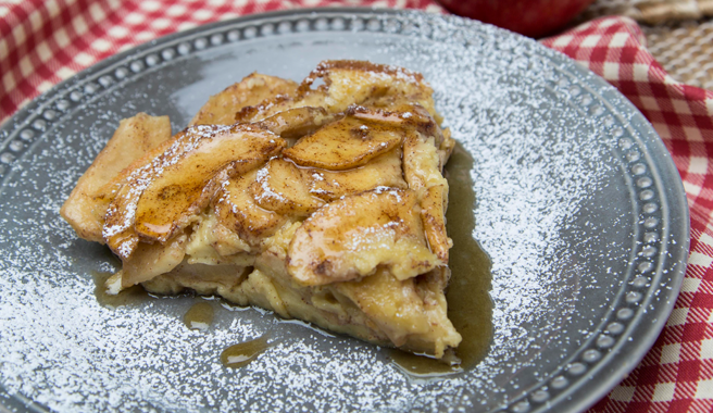Honeycrisp Apple Pancakes