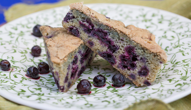 Huckleberry Cake