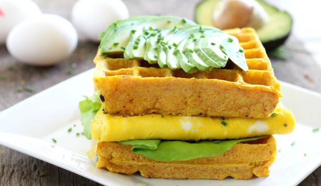 Egg & Avocado Recovery Wafflewich