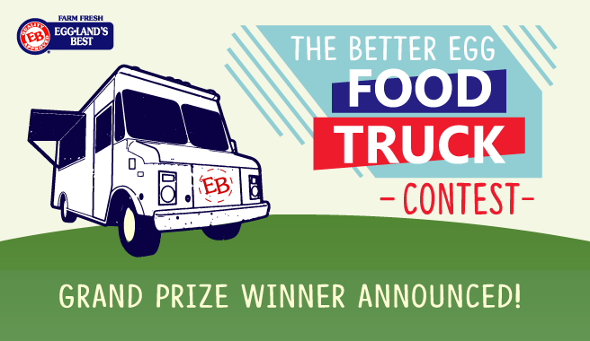 """Announcing the winner of """"EB Delivers"""" Food Truck Sweepstakes"""