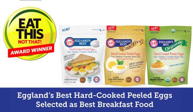 Eat This, Not That! Honors Eggland's Best In 2018 Food Awards