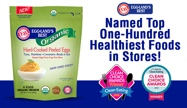 Clean Eating Honors Eggland's Best In 2018 Clean Choice Awards