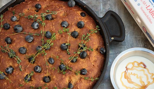 Gluten-Free Brunch Skillet Cake