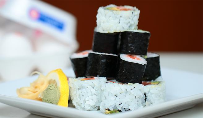 Egg Sushi Roll