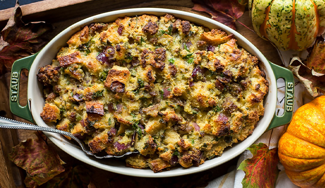 Cornbread & Sourdough Stuffing