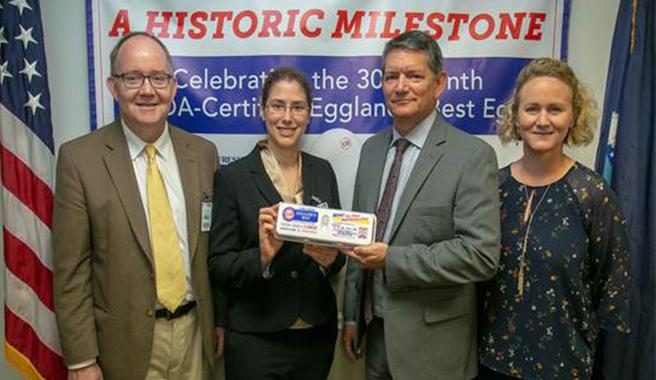 USDA Celebrates Approval of 30 Billionth USDA-Certified Eggland's Best Egg