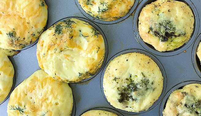Mini Frittatas-To-Go