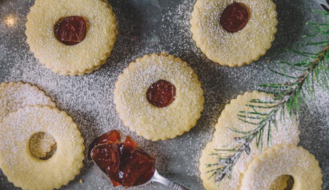 Gluten-Free Linzer Cookies