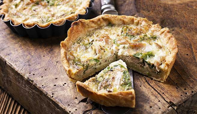 Nor'East Lobster Bake Quiche