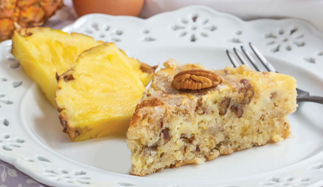 Hummingbird Streusel Coffee Cake