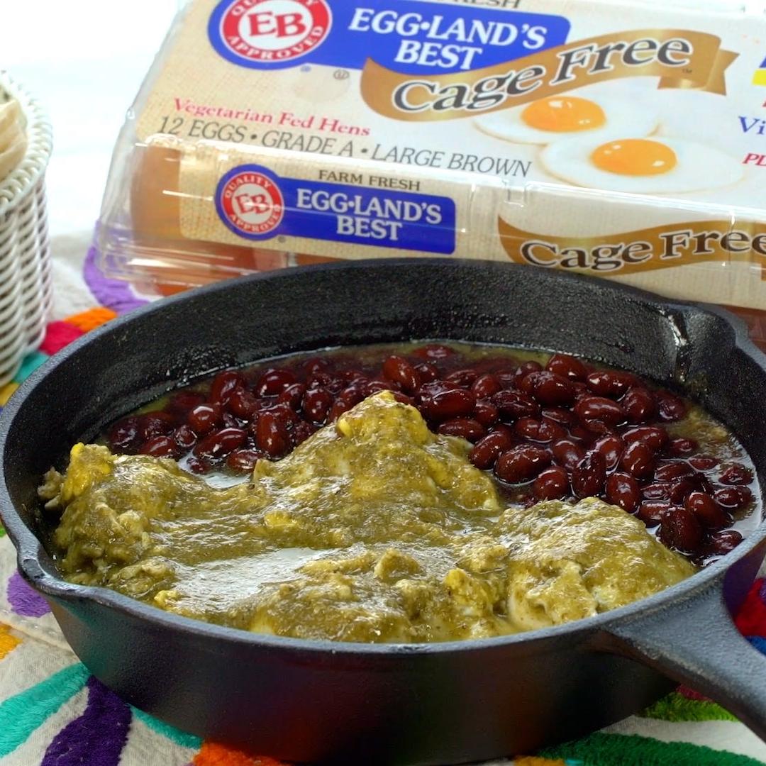 Salsa Verde Eggs with Eggland's Best